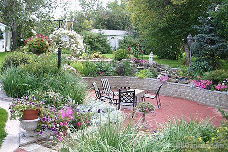 Sunken Flower Garden